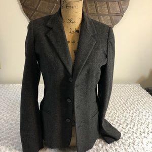 Ralph Lauren ladies grey wool blazer size med
